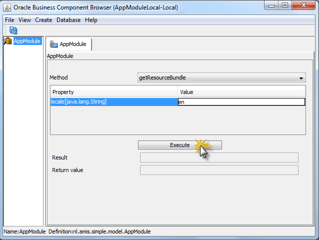 Implement resource bundles for ADF applications in a