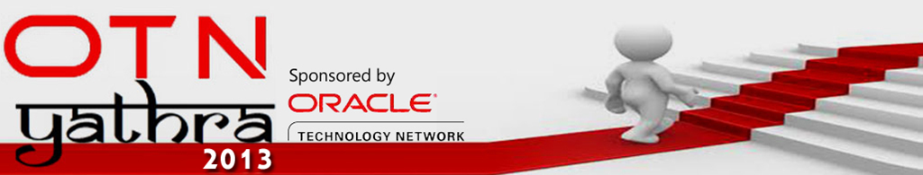 OTN Yathra 2013 – Spreading the story of Oracle across India – (Half time)