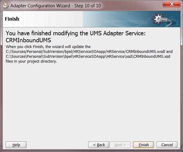 UMS Step 9: Adapter Summary