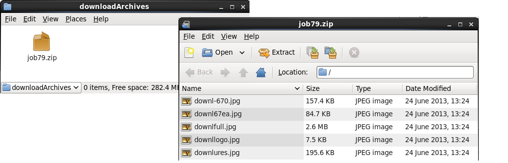 Java EE 7: Creating a background download manager using Java Batch1022