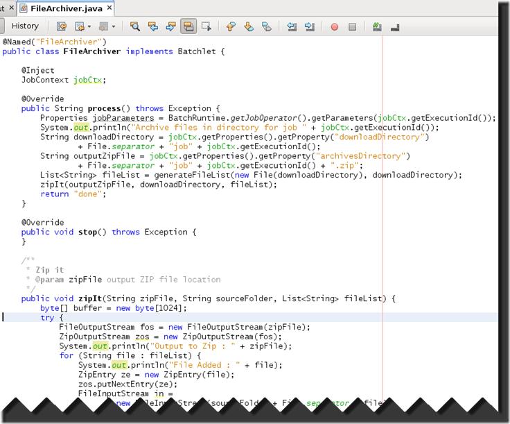 Java Create Zip File In Memory