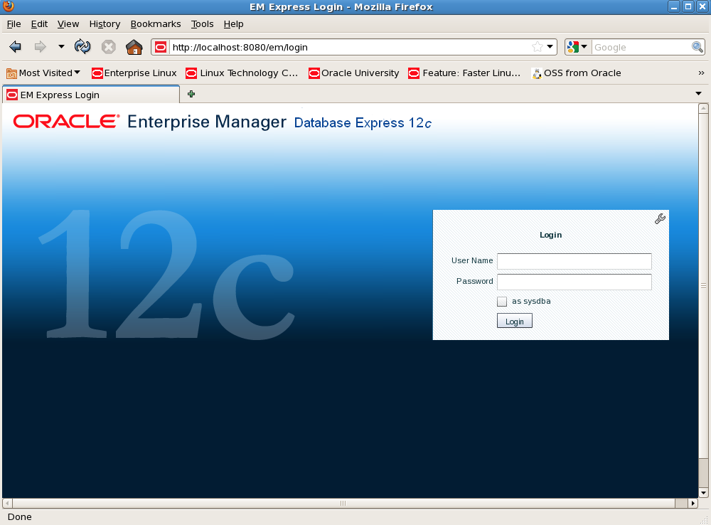 Oracle Database 12c: DB Express – Sneak Peek