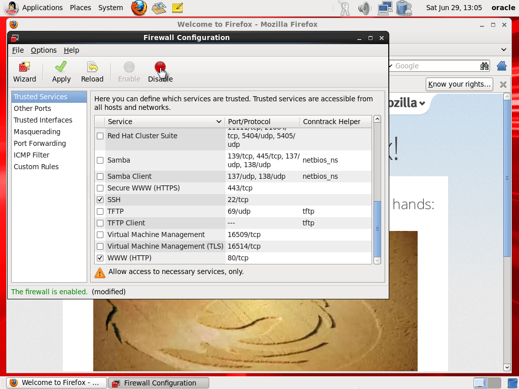 how to set up virtual machine oracle vm
