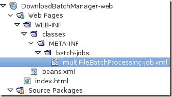 Java EE 7: Creating a background download manager using Java Batch