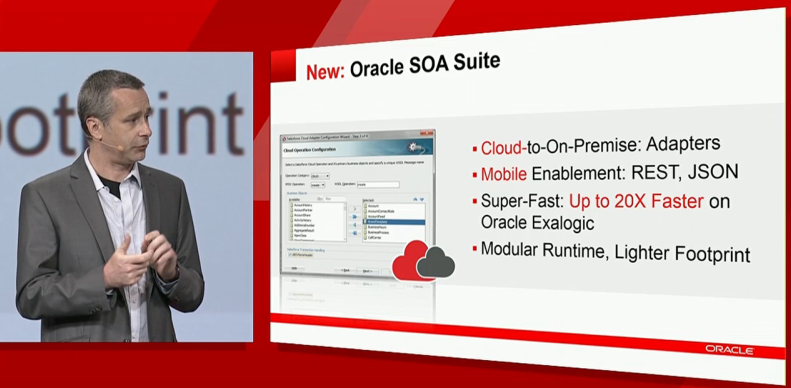 OOW13: First glimpses of the new SOA Suite 12c