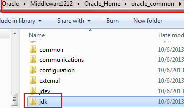 jdk7u40 in oracle_common pasted