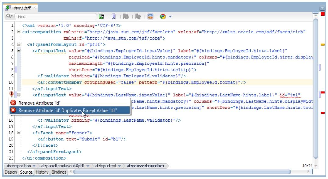 JDeveloper 12c Audit Framework extended