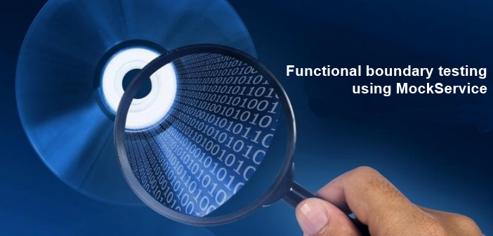 Functional boundary testing of a service-based environment
