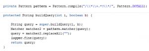buildQuery