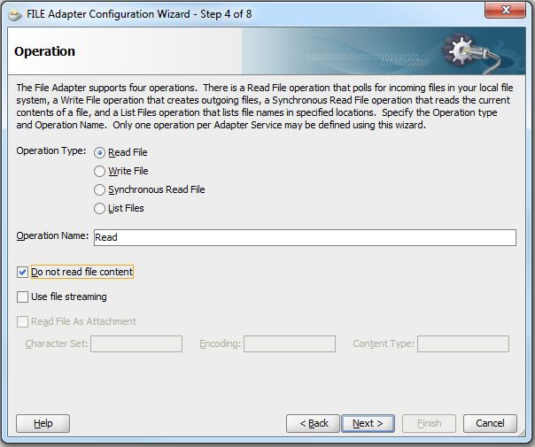 Processing large files through SOA Suite using Synchronous File Read