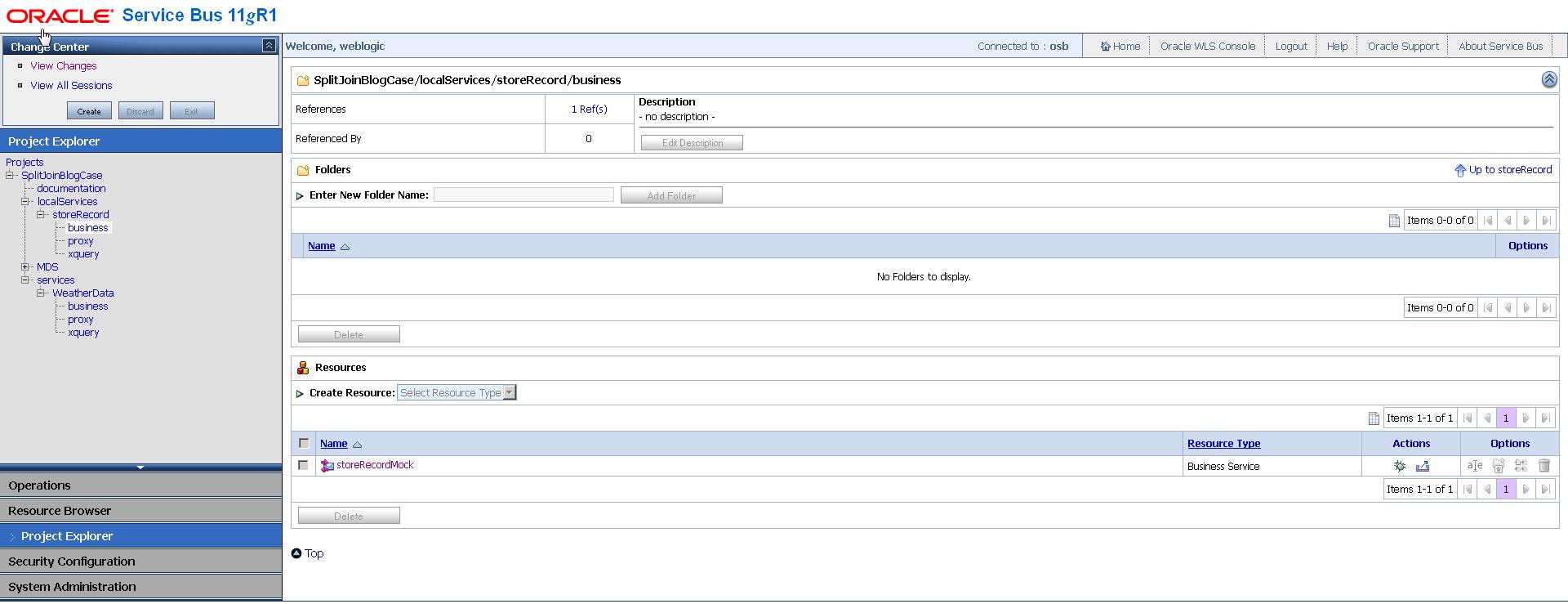 OSB Split-Joins and managing your server load 1: Throttling