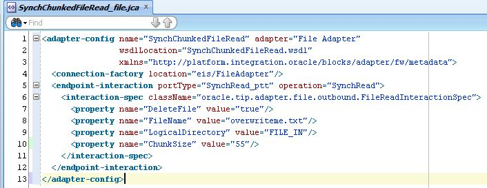 Processing large files through SOA Suite using Synchronous