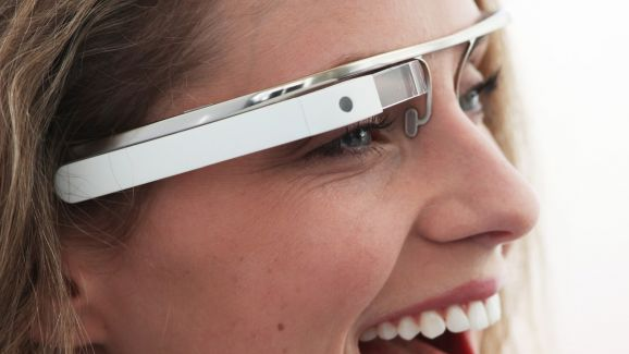 Google Glass explorations; My first glance at Google Glass