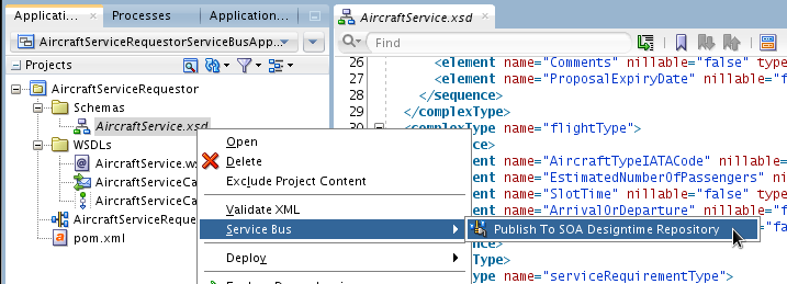 SOA Suite 12c: Sharing resources between SOA composites and Service Bus projects with Design Time MDS