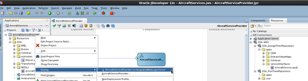 SOA Suite 12c: Deploying shared artifacts to Run Time MDS – the official approach and the quick short-cut