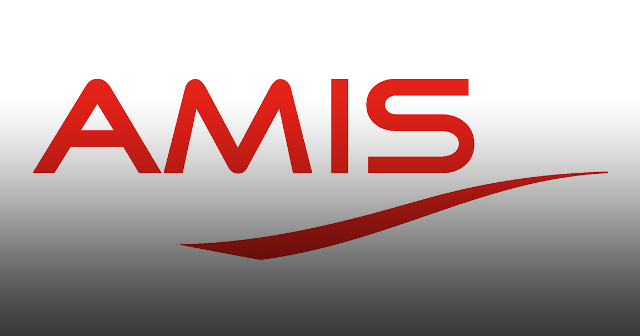 AMIS logo with gradient.
