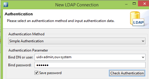 LDAP and Weblogic: Using ApacheDS as auth-provider