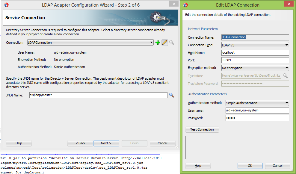 Oracle SOA Suite 12c: The LDAPAdapter quick and easy