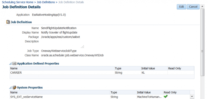 SOA Suite 12c: Invoke Enterprise Scheduler Service from a BPEL