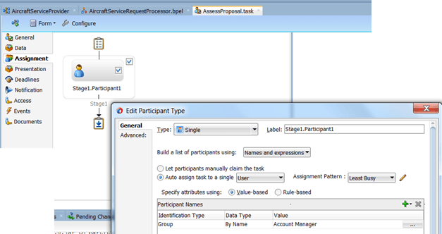 SOA Suite 12c: Human Task and Escalation through the LDAP hierarchy