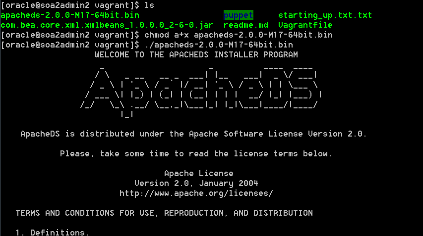 Getting started with ApacheDS - LDAP Server and Directory