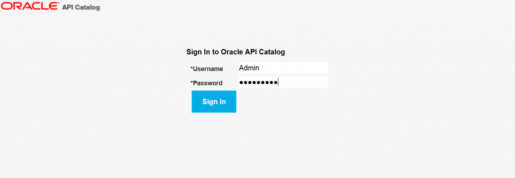 OAC12c: Login to the provided console (admin / weblogic 1)