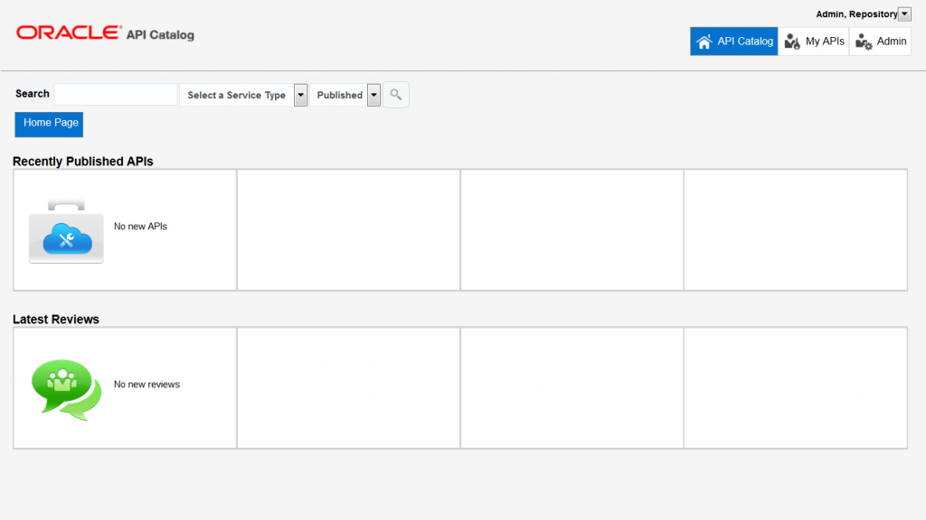 OAC12c: Empty dashboard after first-time login