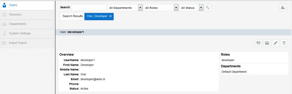 OAC12c: Developer User