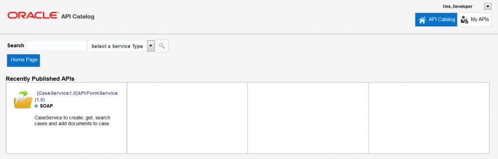 OAC12c: Developer Dashboard