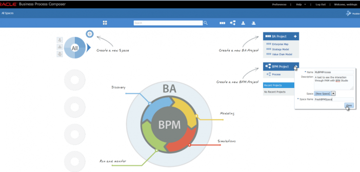 BPM Suite 12c: Getting started with BPM Studio (JDeveloper) and Process Composer using Process Asset Manager (PAM)