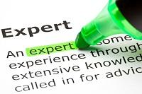 experts zijn niet voor niets experts