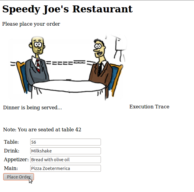 Donderdag 16 april/Thursday April 16th –  Speedy Joe's – Using asynchronous interaction in Java EE to turn the world's slowest restaurant into a super performant place