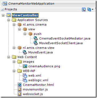 Java Web Application sending JSON messages through WebSocket to