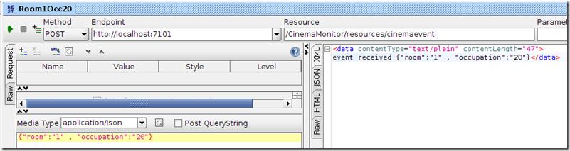 Java Web Application sending JSON messages through WebSocket