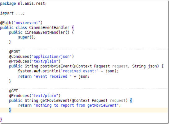 how to call a rest service from java