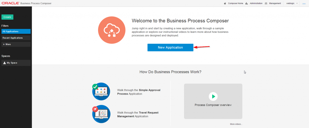 Create a new application: ServiceAccessApproval