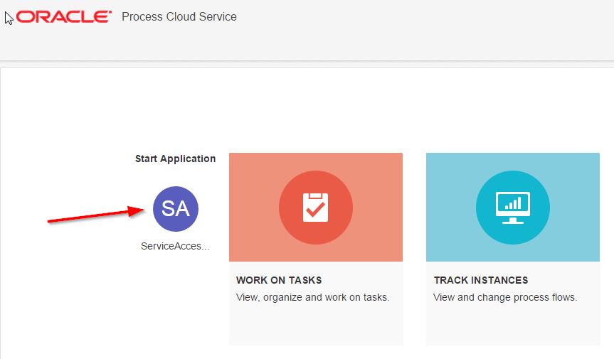 Login into Process WorkSpace