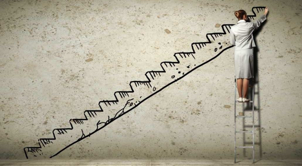 Stap voor stap, telkens verder vooruit