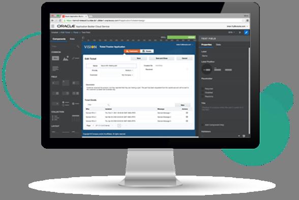 Declarative Web User Interface Development by the Citizen Developer – Introducing the Oracle Application Builder Cloud Service