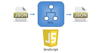 end to end json in bpel and javascript