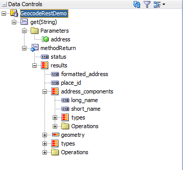 Geocode data control