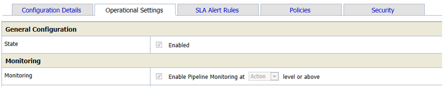 Enabled Pipeline Monitoring