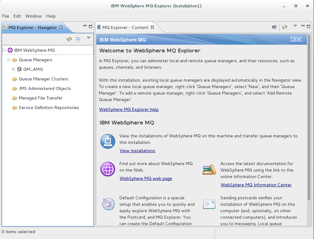 Oracle Middleware and IBM MQ Series – IBM MQ Installation