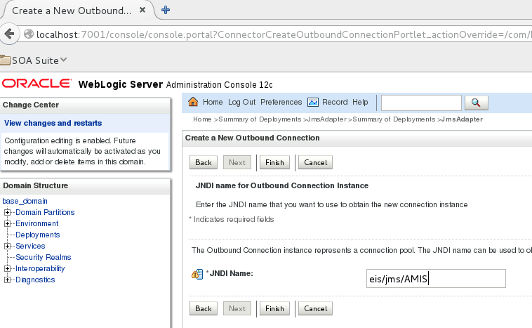Oracle Middleware and IBM MQ Series – Configuration of JMS