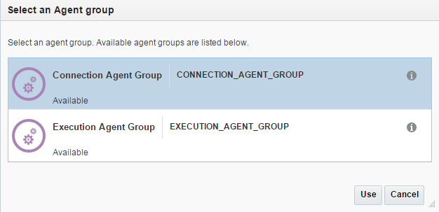 Configure Agent Group