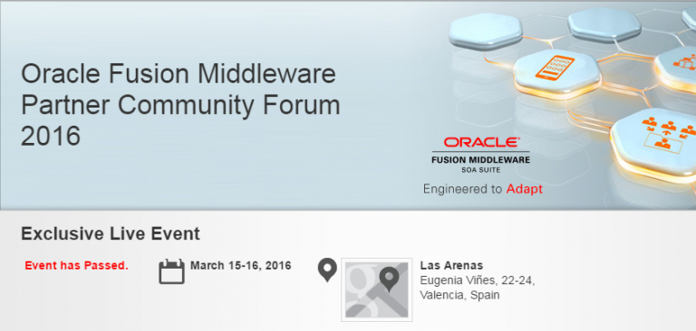 Cloudy with a chance of Services – OFMForum XXII Valencia
