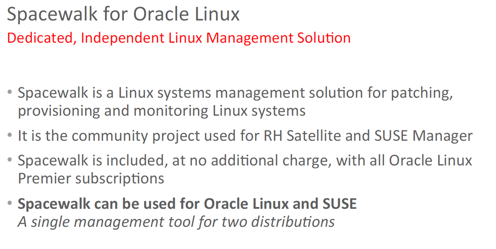 Migrating Red Hat Linux subscription to Oracle - AMIS Oracle
