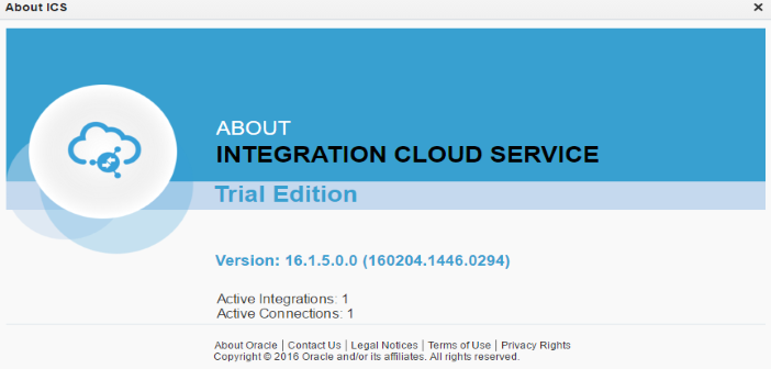 Oracle Integration Cloud Service (ICS): A developer's first impression