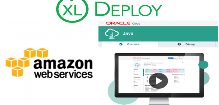 Application deployment to Oracle Java Cloud instance using XL Deploy on AWS EC2
