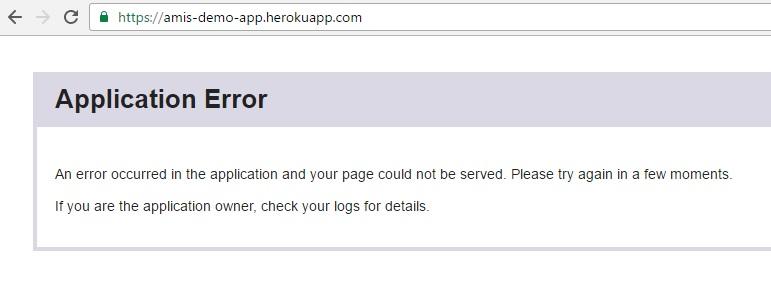 application-error